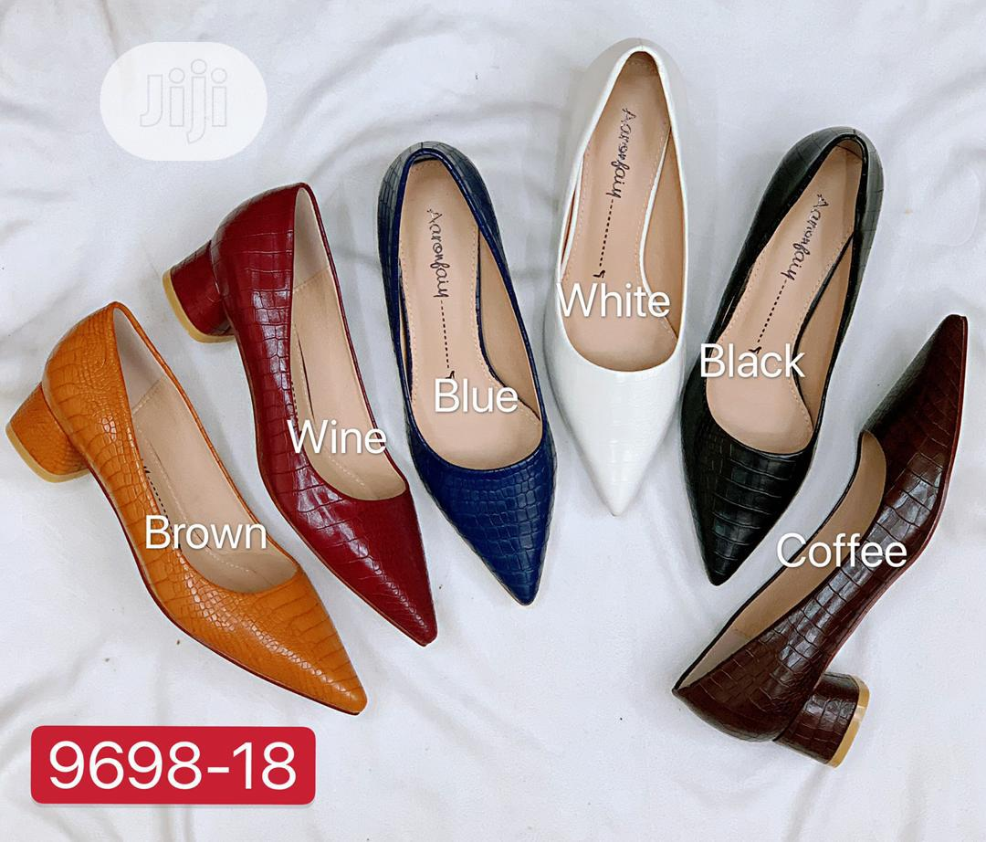 New Quality Female Block Heel Shoes