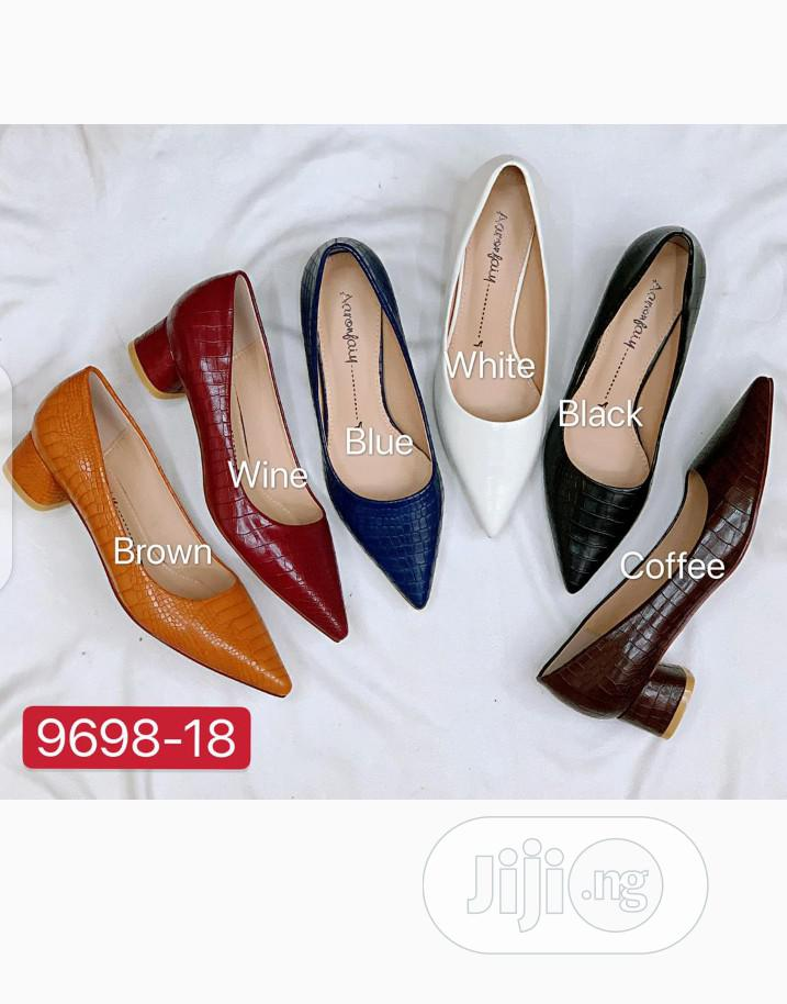New Quality Female Block Heel Shoes | Shoes for sale in Isolo, Lagos State, Nigeria