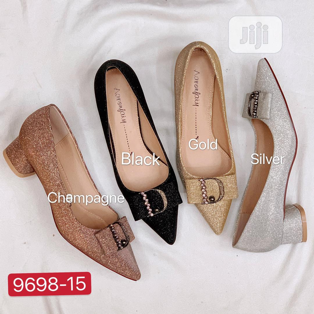 New Design Female Block Heel Shoes | Shoes for sale in Isolo, Lagos State, Nigeria