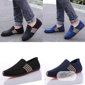 Men Casual Shoes Loafers Pu Leather Flats Moccasins Shoes | Shoes for sale in Lagos State, Ejigbo