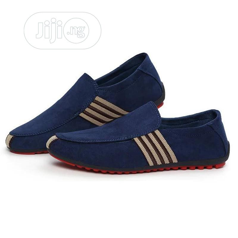 Men Casual Shoes Loafers Pu Leather Flats Moccasins Shoes   Shoes for sale in Ejigbo, Lagos State, Nigeria