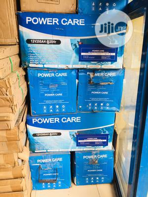 200ah Power Care Solar Battery Available | Solar Energy for sale in Lagos State, Ajah