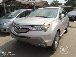 Acura MDX 2008 SUV 4dr AWD (3.7 6cyl 5A) Silver | Cars for sale in Lagos State, Apapa
