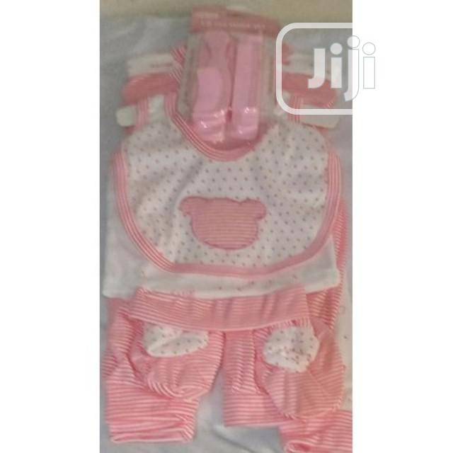 Baby New Born 8 In 1 Pieces Arrival Wears Unisex Colour | Children's Clothing for sale in Lagos Island (Eko), Lagos State, Nigeria