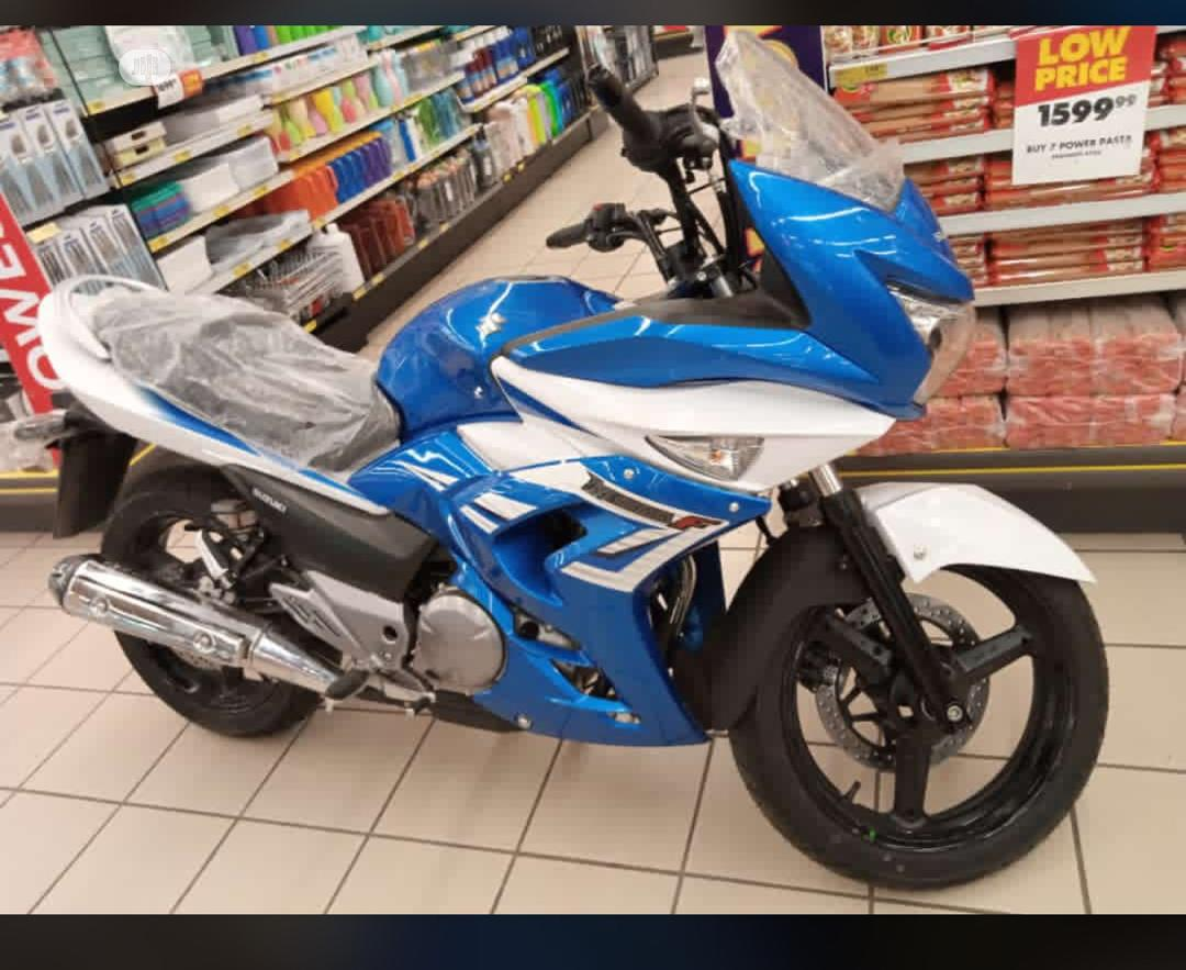 Archive: New Suzuki Bike 2019 Blue