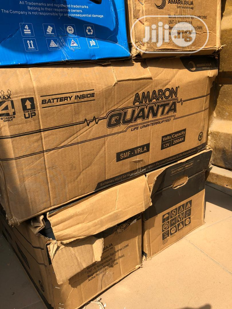 Amaron Quanta 200ah 12v Solar Battery