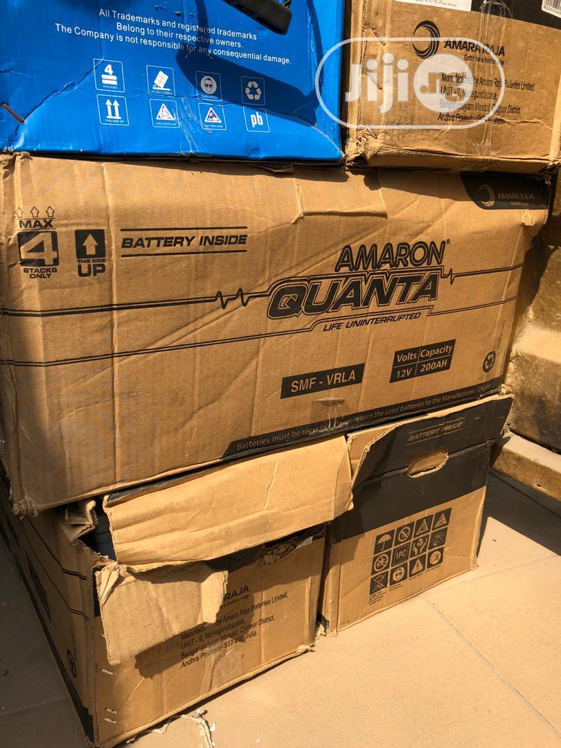 Amaron Quanta 200ah 12v Solar Battery | Solar Energy for sale in Lekki, Lagos State, Nigeria