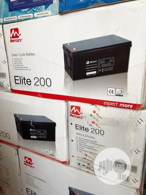 Mecury 200ah 12v Solar Battery | Solar Energy for sale in Lagos State, Lekki