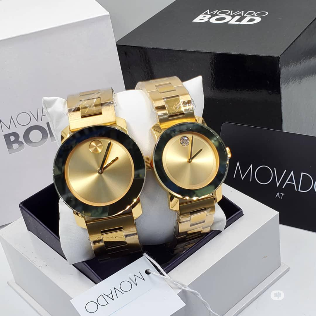 High Quaality MOVADO Stainless Steel Watch
