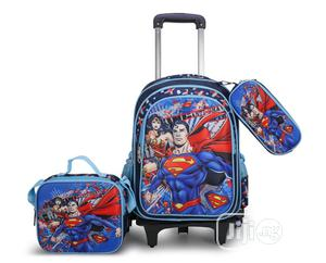 Superman Trolley Bag | Babies & Kids Accessories for sale in Lagos State, Ikeja