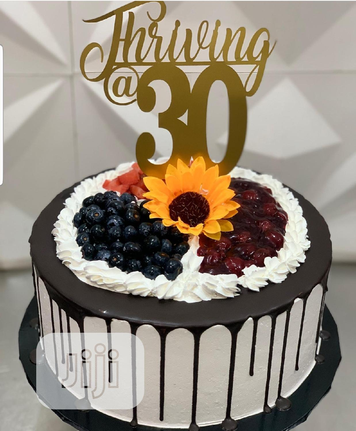 Kiddies Cakes 30th Birthday Cake | Party, Catering & Event Services for sale in Agboyi/Ketu, Lagos State, Nigeria