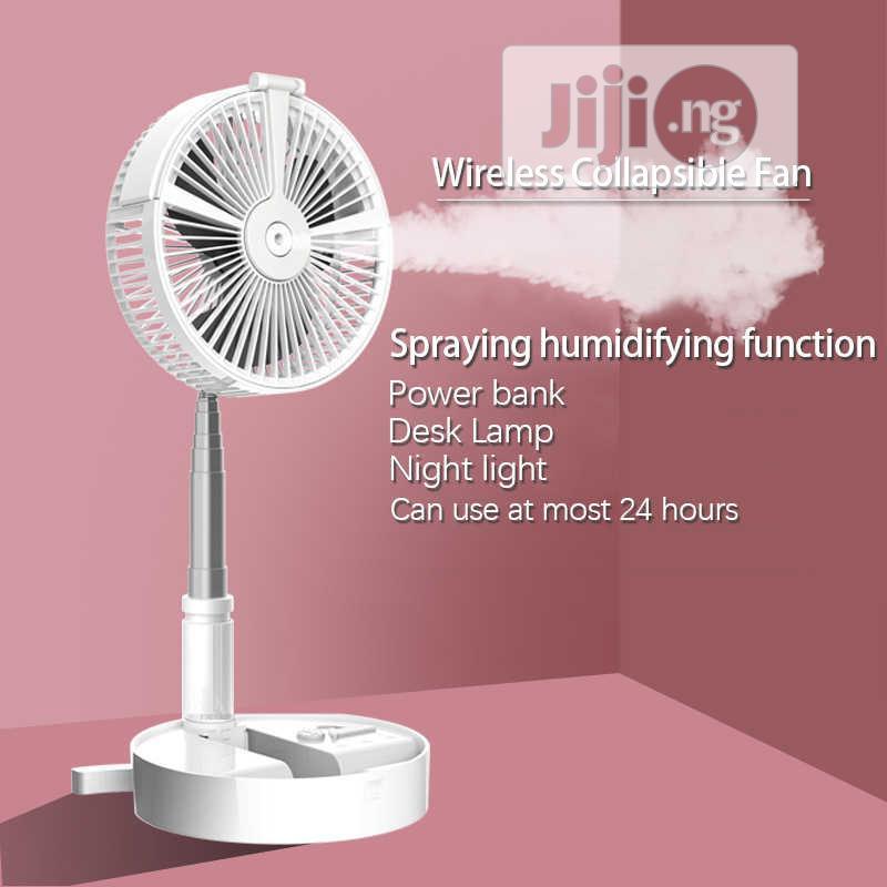 Lever Folding Mist Fan