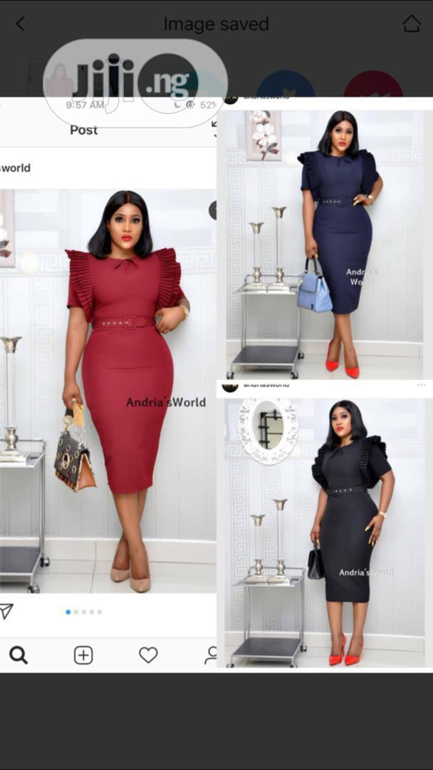 Quality Corporate Gown for Ladies