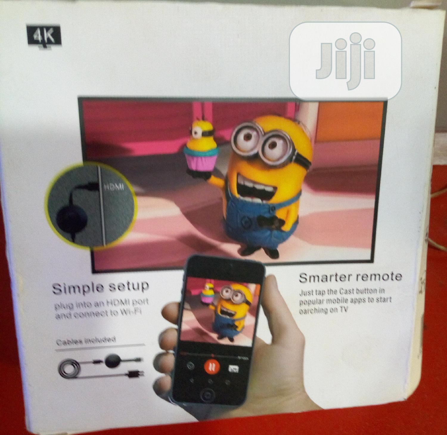 Phone to Television Chrome Cast