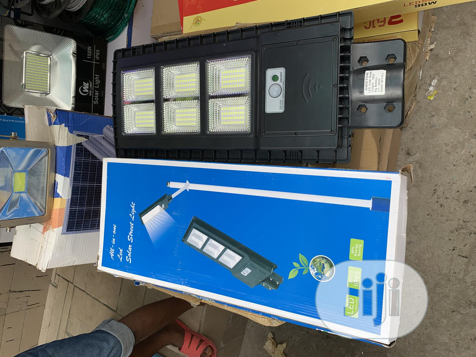150watts Solar All in One Street Light | Solar Energy for sale in Ojo, Lagos State, Nigeria