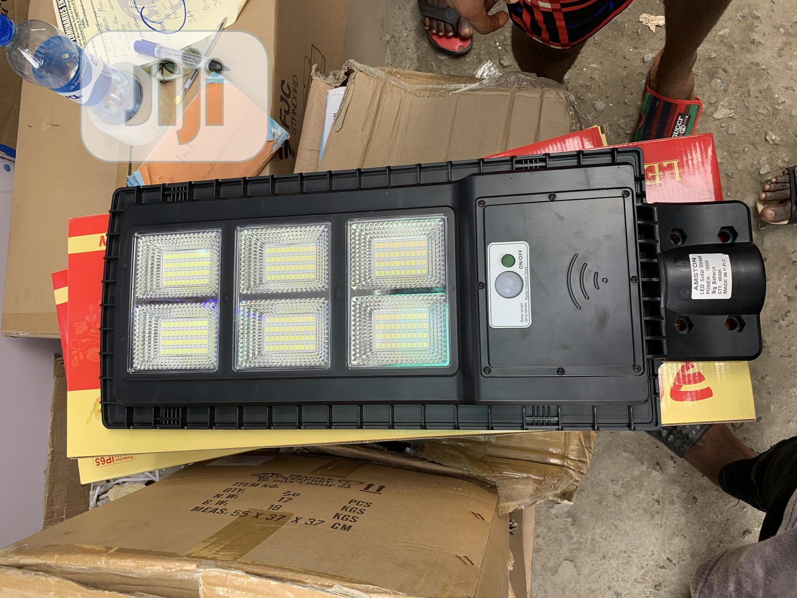 150watts Solar All in One Street Light