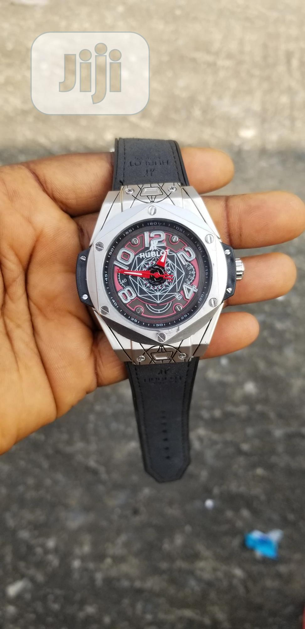 Hublot Vintage Leather Wristwatch   Watches for sale in Ajah, Lagos State, Nigeria