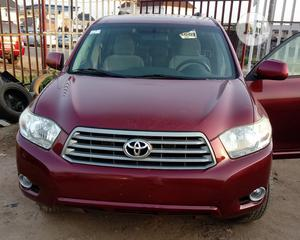 Toyota Highlander 2008 Sport Red   Cars for sale in Lagos State, Isolo