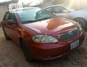 Toyota Corolla 2006 LE Red | Cars for sale in Abuja (FCT) State, Karu