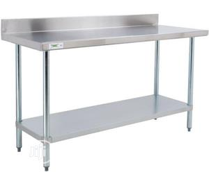 Working Table With Back | Restaurant & Catering Equipment for sale in Lagos State, Surulere