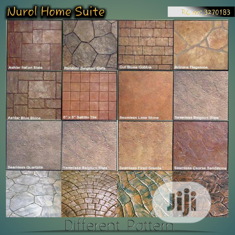 Different Pattern of Increte/Stamped Concrete Floor