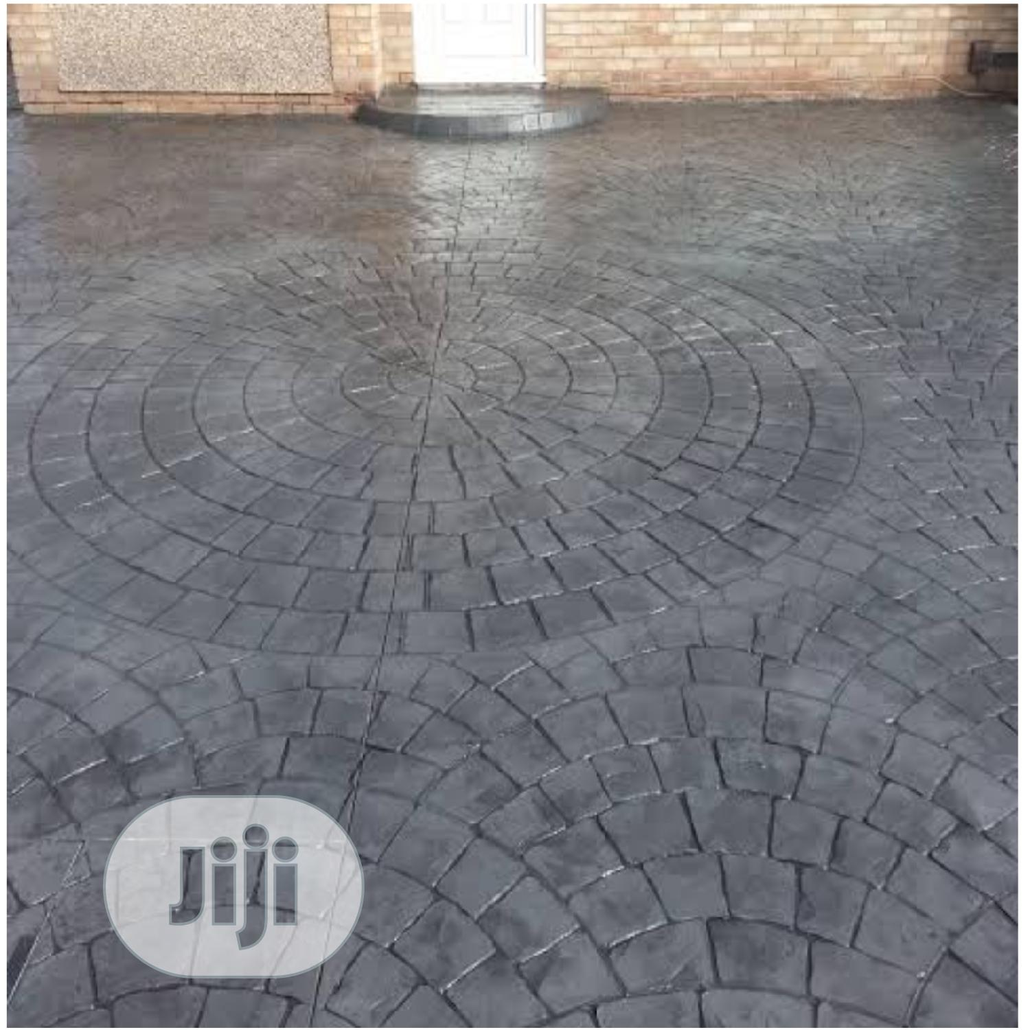 Different Pattern of Increte/Stamped Concrete Floor   Landscaping & Gardening Services for sale in Maryland, Lagos State, Nigeria