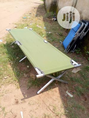 Foldable Portable High Quality Camping Bed | Camping Gear for sale in Lagos State, Surulere