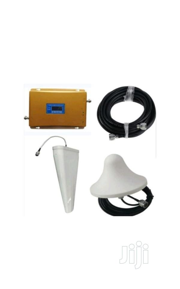 4G, 3G, 2G Mobile Triband Signal Network Booster | Accessories for Mobile Phones & Tablets for sale in Ikeja, Lagos State, Nigeria