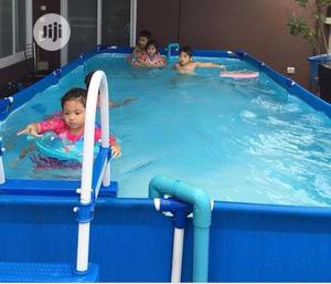 15ft Intex Swimming Pool With Ladder | Sports Equipment for sale in Lagos State, Surulere