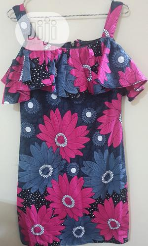 Teen Thin Strapped Ankara Dress   Children's Clothing for sale in Lagos State, Lekki