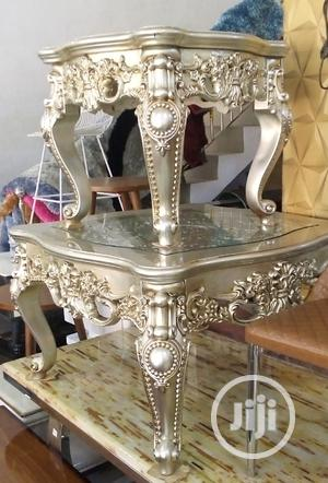 Super Quality Royal Centre Table and Two Side Stew   Furniture for sale in Abia State, Aba North
