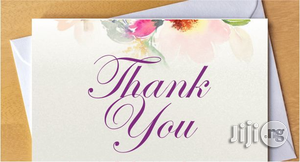 Customised Greeting Card   Stationery for sale in Lagos State