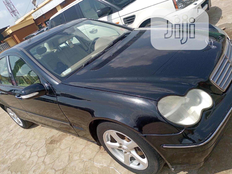 Archive: Mercedes-Benz C280 2006 Black