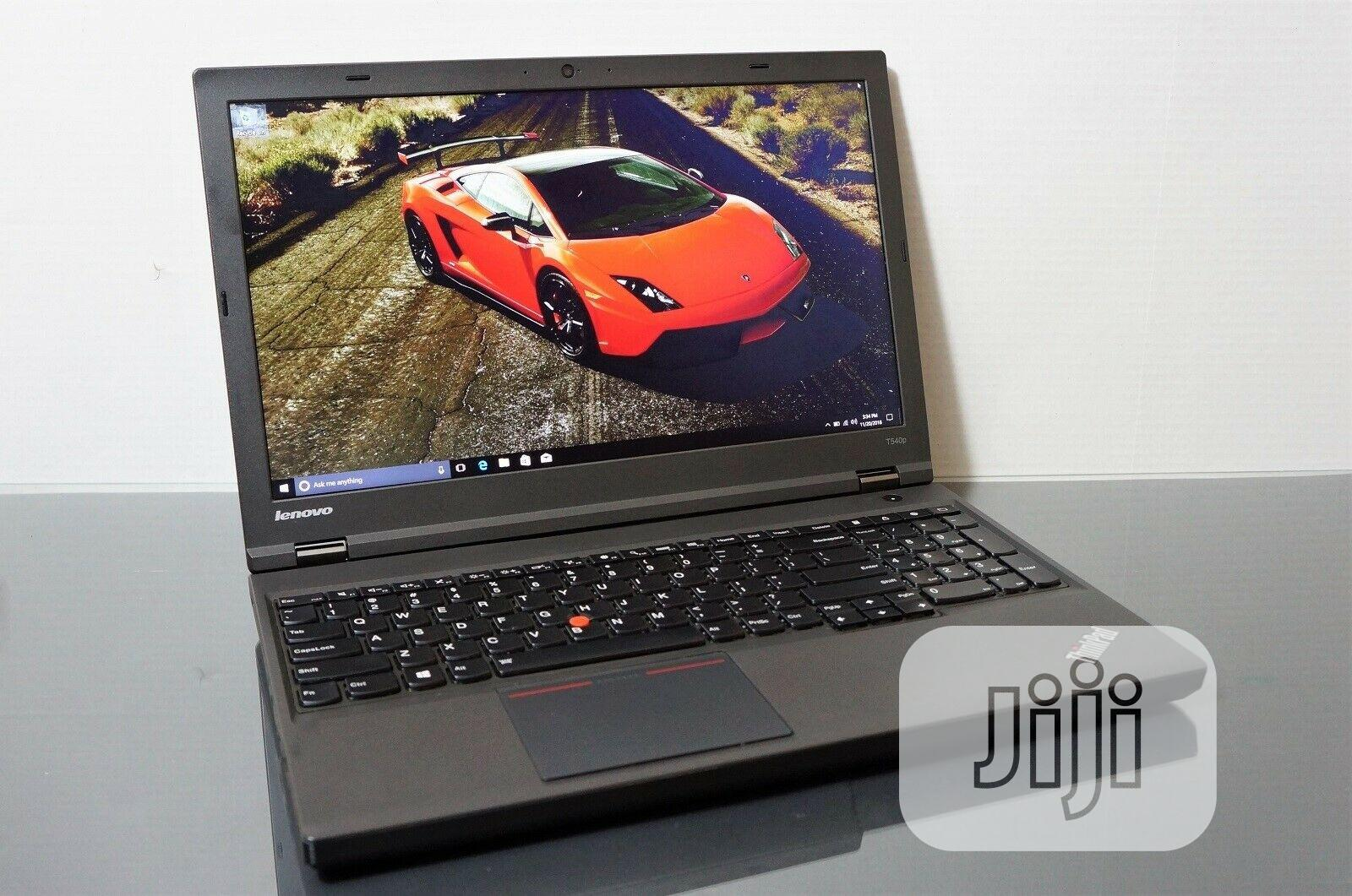 Laptop Lenovo ThinkPad T540p 8GB Intel Core I7 HDD 500GB | Laptops & Computers for sale in Enugu, Enugu State, Nigeria