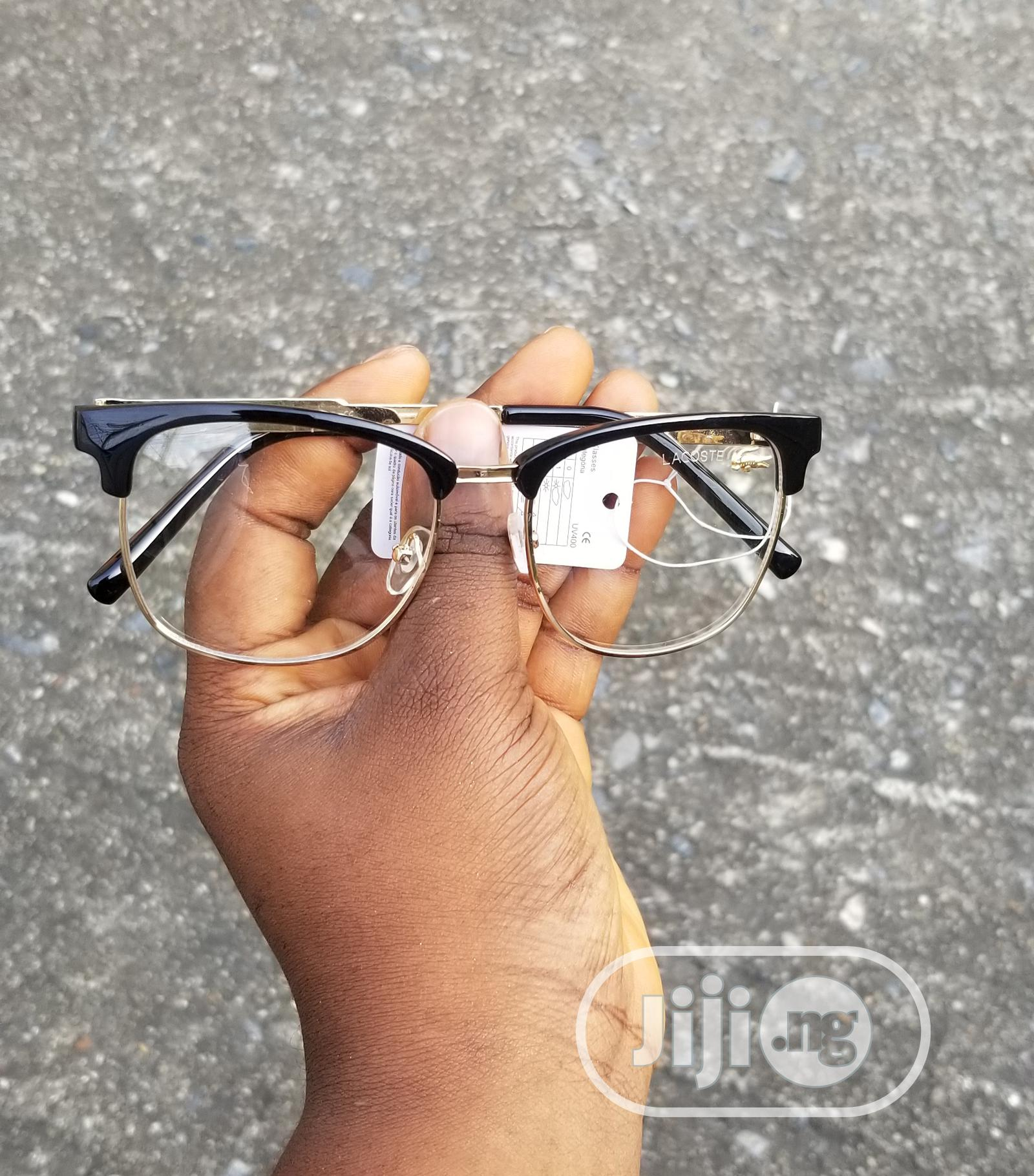 Archive: Extra Clear Thick Lacoste Frame