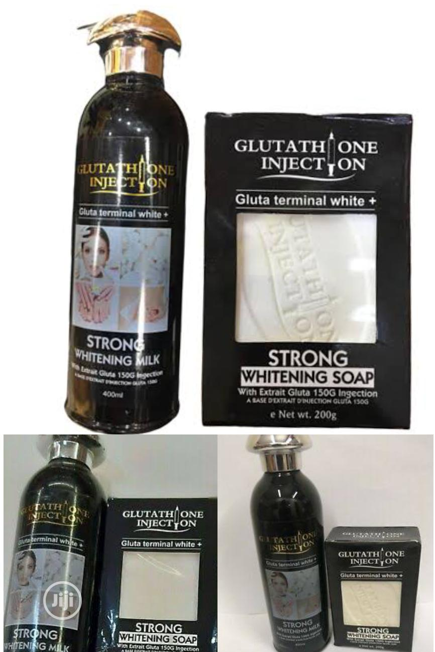 Gluthatione Injection T.White Strong Whitening Cream & Soap