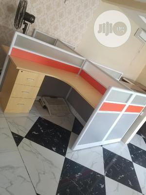 4seater Executive Workstation With Mobel Drawers | Furniture for sale in Lagos State, Ajah