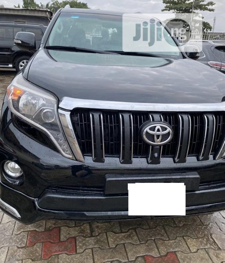 Toyota Land Cruiser Prado 2015 Black | Cars for sale in Ikeja, Lagos State, Nigeria