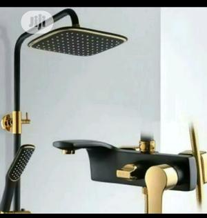 Original Black And Gold Standing Shower   Plumbing & Water Supply for sale in Lagos State, Orile