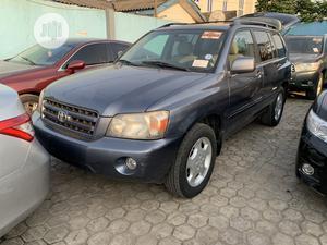 Toyota Highlander 2007 Limited V6 4x4 Blue | Cars for sale in Lagos State, Ikeja