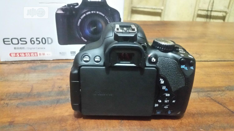 CANON Camera 650D | Photo & Video Cameras for sale in Amuwo-Odofin, Lagos State, Nigeria