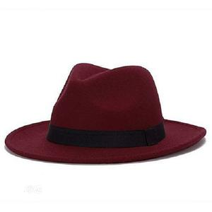 Fedora Hat - Wine   Clothing Accessories for sale in Lagos State, Surulere