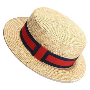Women Sun Hat Sunmmer Beach New Flat Top Straw Hat Men Boate   Clothing Accessories for sale in Lagos State, Surulere