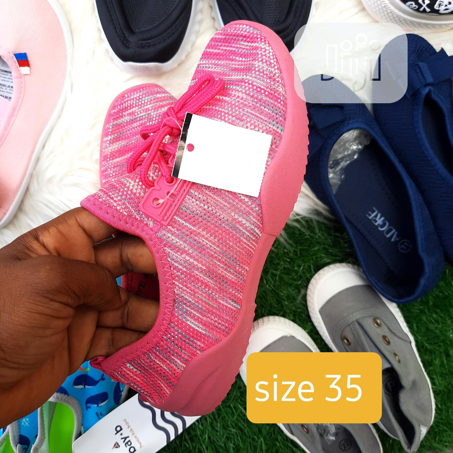 Archive: Brand New Kiddies Sneakers in Size 35