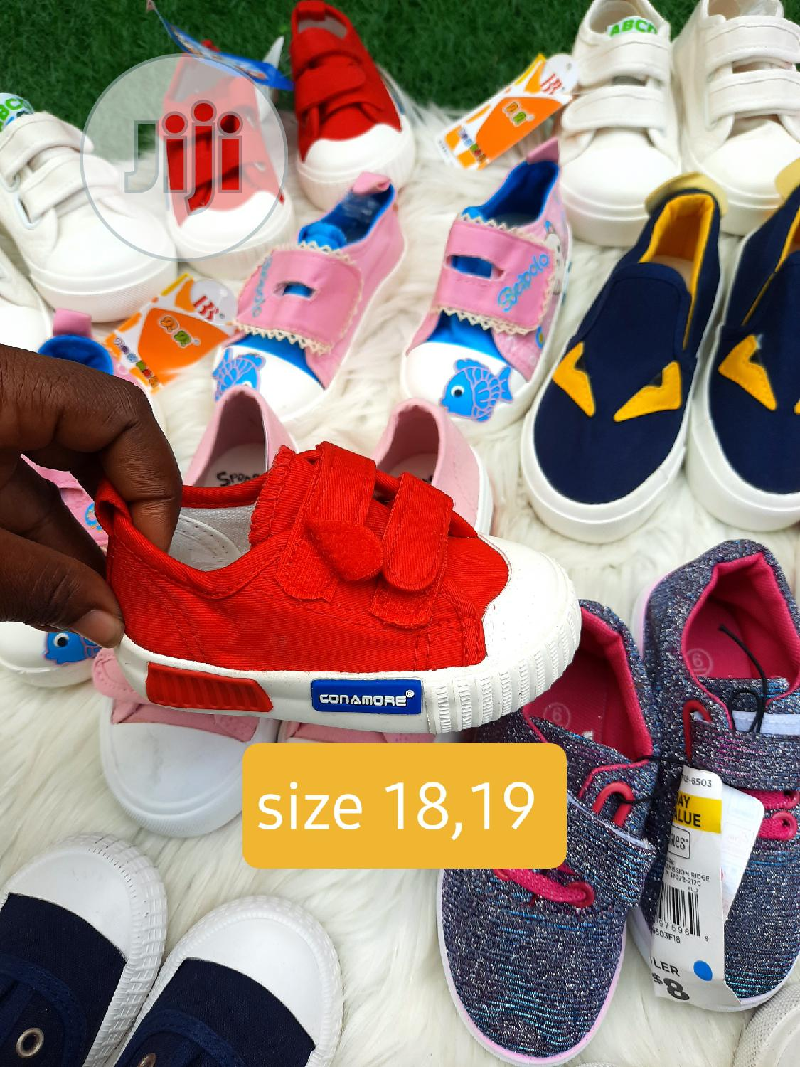 Archive: Brand New Kiddies Sneakers in Size 18 and 19