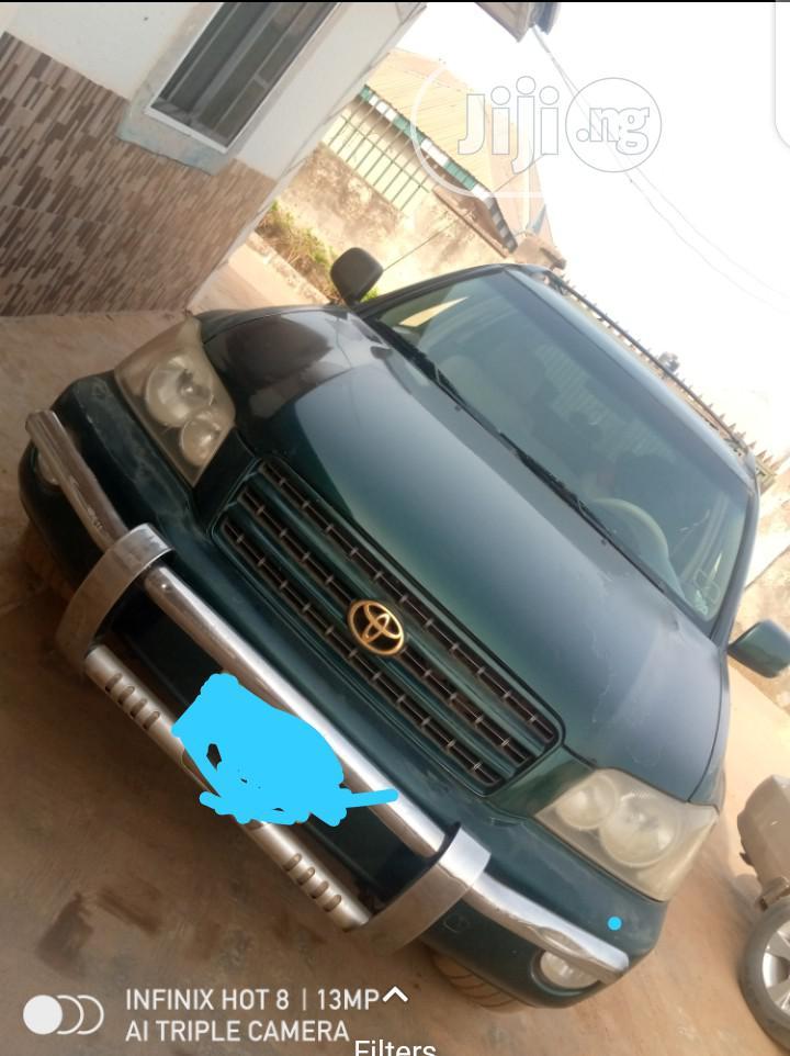 Toyota Highlander 2003 Green