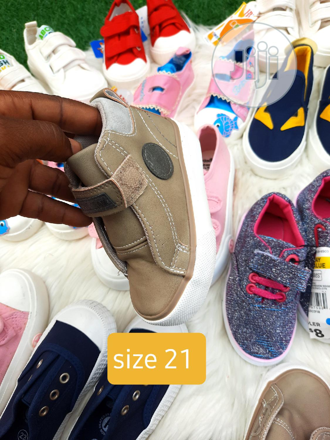 Archive: Brand New Kiddies Sneakers in Size 21
