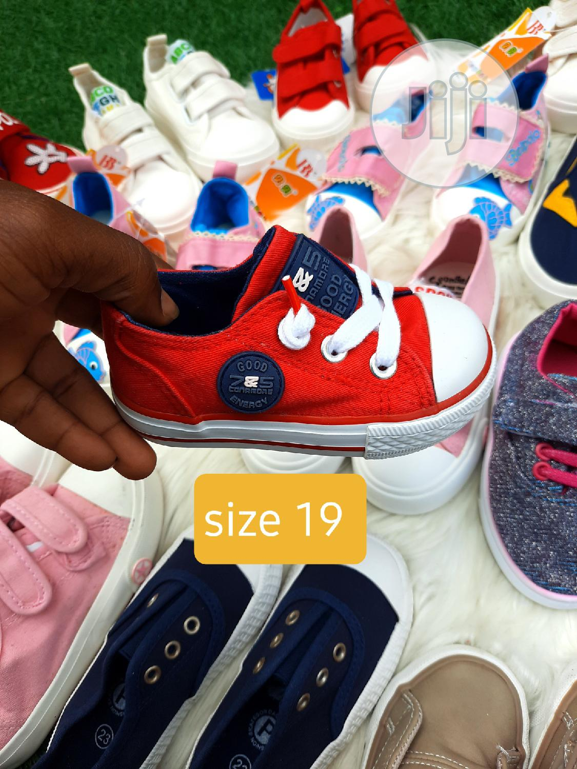Archive: Brand New Kiddies Sneakers in Size 19