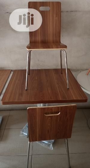 Good Quality Wooden Restaurant/Dinning Table With 4 Chairs   Furniture for sale in Abuja (FCT) State, Jabi