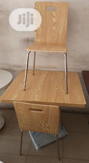 Super Quality Wooden Restaurant/Dinning Table With 4 Chairs   Furniture for sale in Lagos State, Ojo